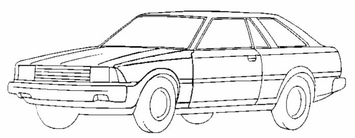corolla coloring pages | Brommerforum.nl - Knowledge Base - Kleurplaten Corolla