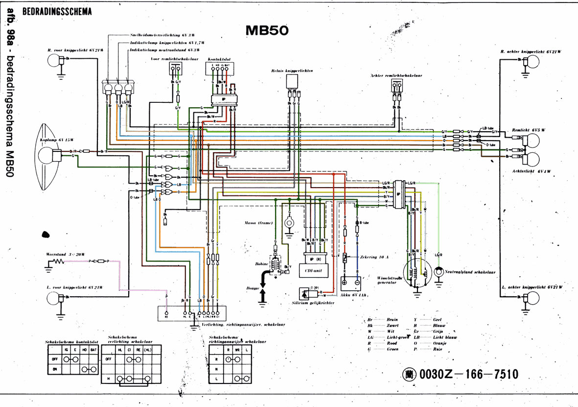 Derbi Senda Wiring Diagram Block Explanation Brommerforum Nl Elektronica Forum Remlicht Aansluiten Honda Mb Electrical Xtreme